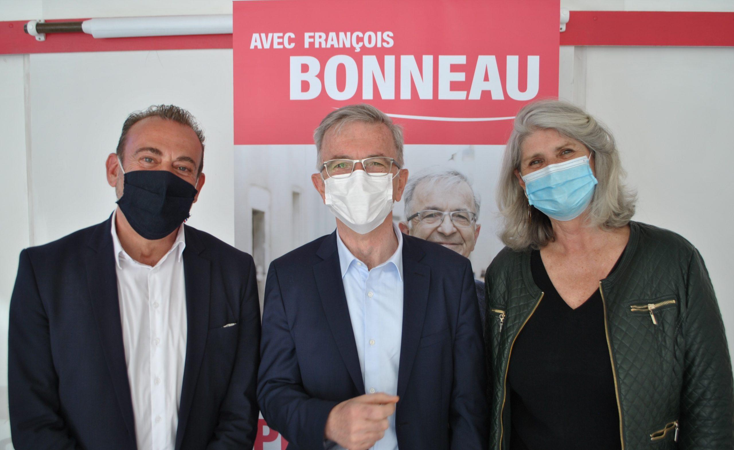 Marc Gricourt et Karine Gloanec-Maurin, en première ligne sur la liste en Loir-et-Cher