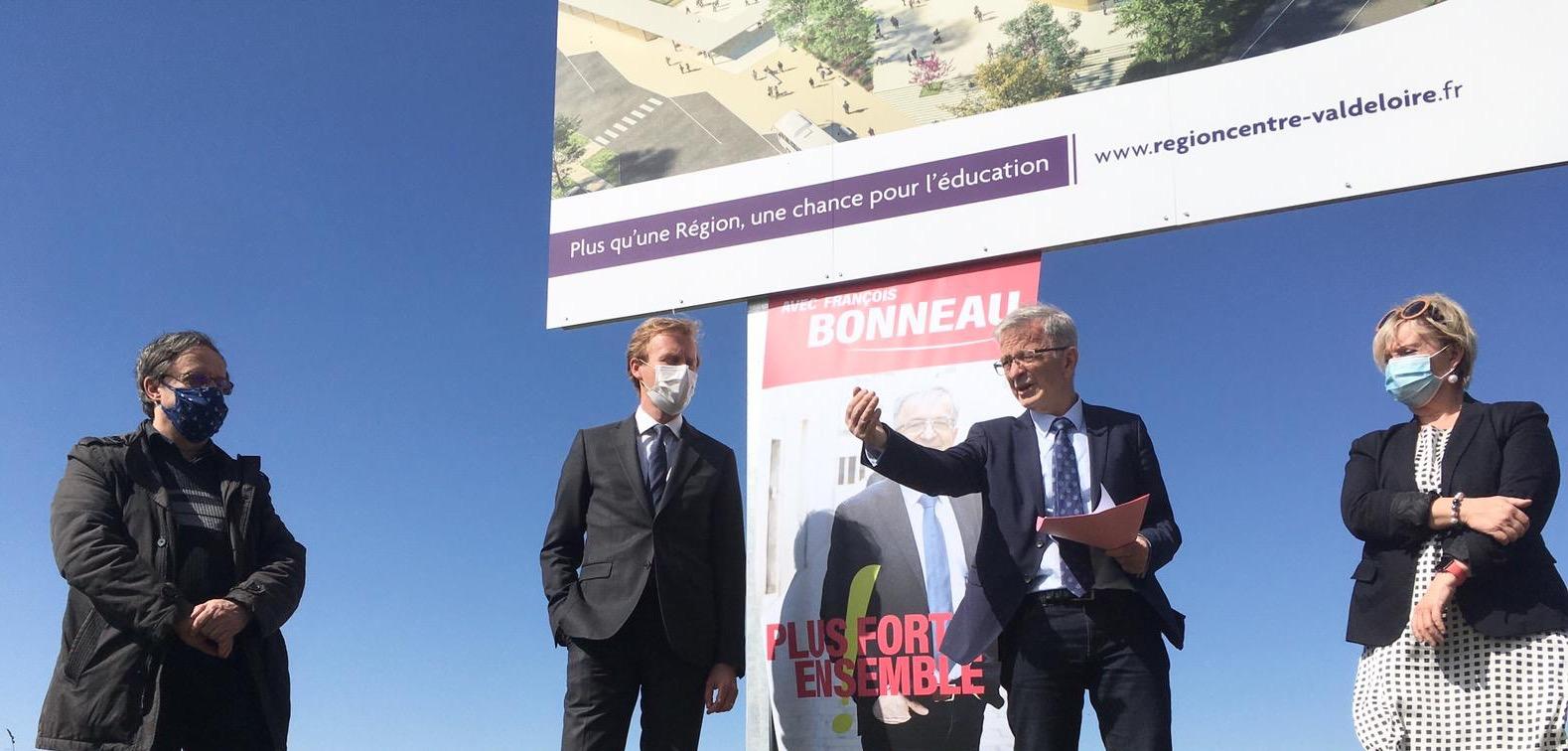 En Eure-et Loir, Harold Huwart et Michèle Bonthoux désignés  têtes de liste «Plus Fort, Ensemble!»